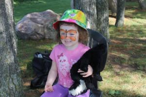 Qwendowlyn and skunk friend!